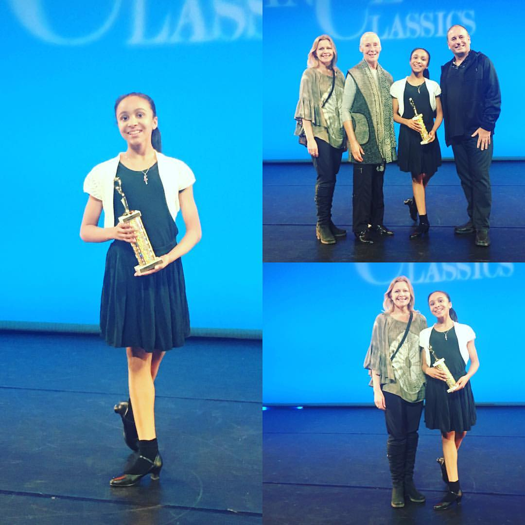 Kelly Hicks 1st place Classical Ballet and Contemporary Dance Competitions