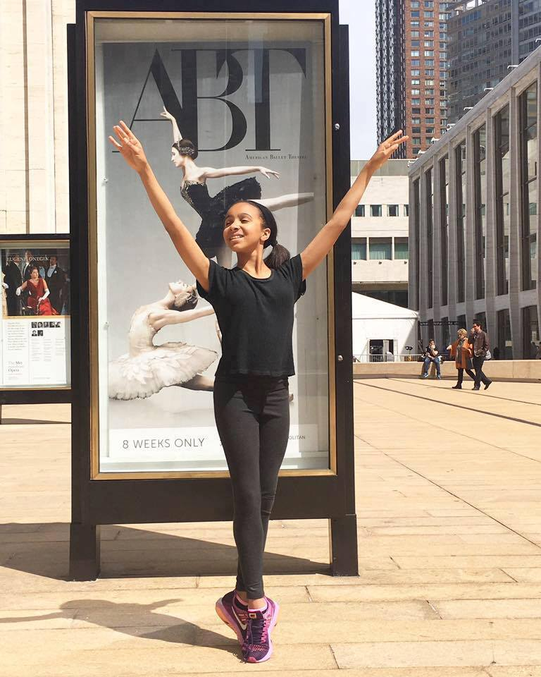 Kelly Hicks, full-tuition scholarship to study at the American Ballet Theatre Jacqueline Kennedy Onassis School in New York City