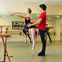 partnering ballet class